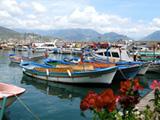 Haven van Alanya Turkije
